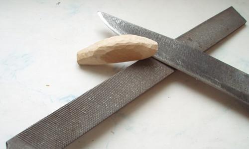 Нож, сделанный из напильника