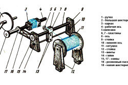 Схема станка для намотки трансформаторов
