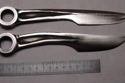 Ножи из гаечных ключей