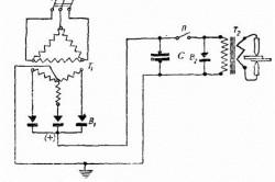 Схема конденсаторной сварки