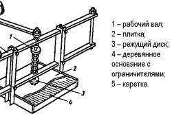Схема приспособления для сверления плитки