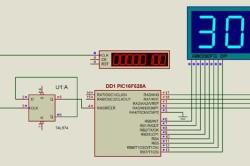 Схема цифрового тахометра