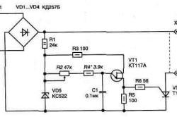 Электрическая схема регулятора температуры паяльника