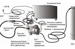 Схема устройства сварочного аппарата