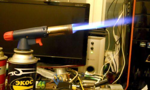 Газовая горелка для пайки латуни