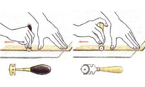 Правильное использование стеклореза для резки плитки