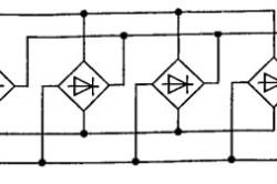 Схема параллельного включения диодных мостов, для больших токов сварочного аппарата