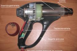 Устройство типичного термофена