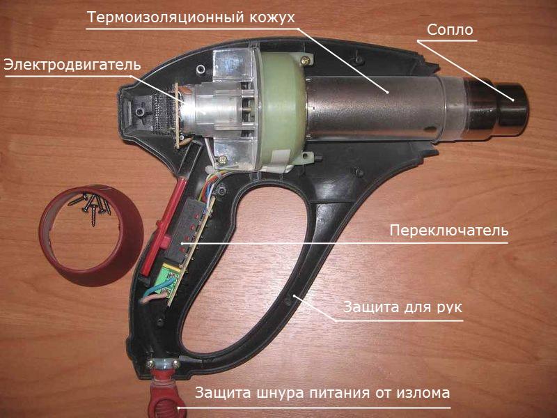 Самодельный термофен для пайки