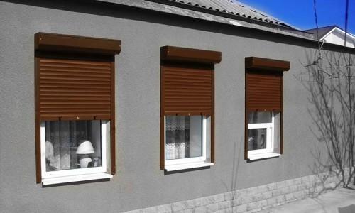 Роллетные системы на окнах