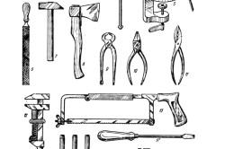 Инструменты для изготовления рубанка