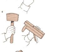 Схема регулировки выпуска лезвия рубанка