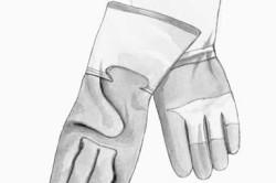 Перчатки для заточки инструмента