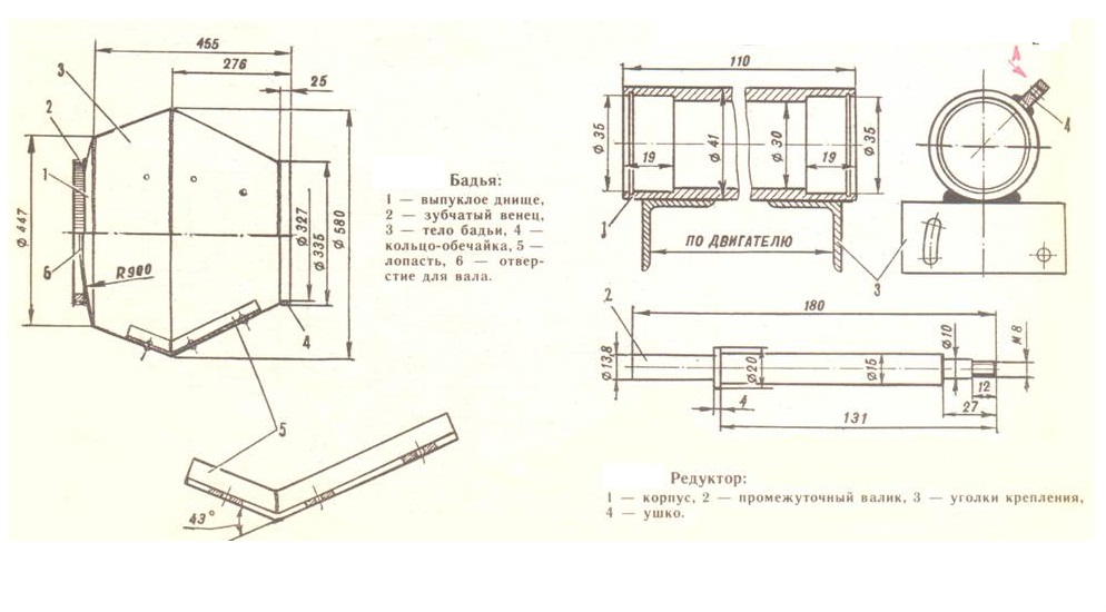 Из чего и как сделать бетономешалку