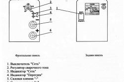 Управление сварочным инвертором