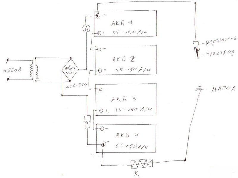 Схема аппарата из