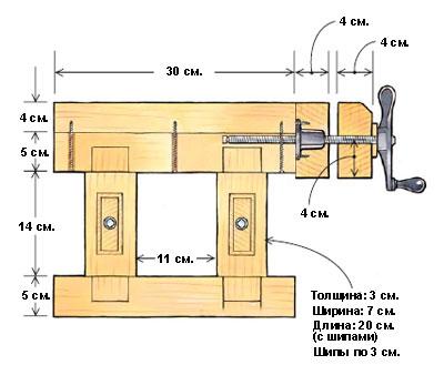 Стол для компьютера своими руками из дерева чертежи