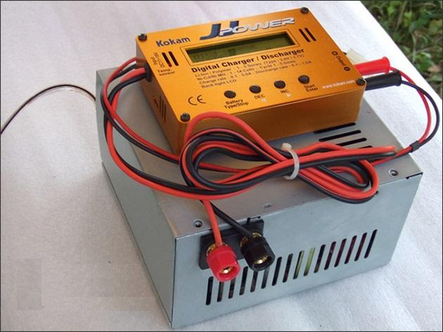 Как из блока питания сделать зарядное устройство для аккумуляторов