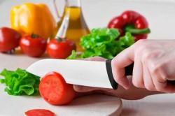 Достоинства керамического ножа