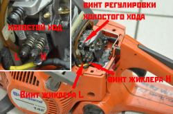 Ремонта карбюратора бензопилы Штиль