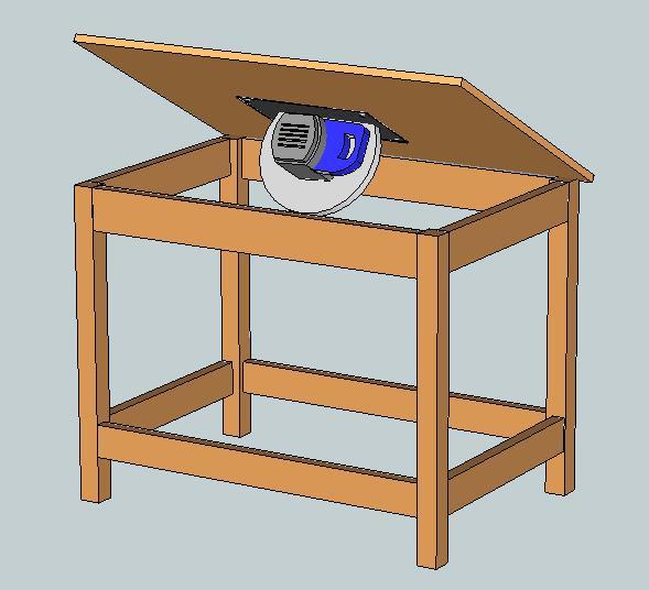 стол для дисковой пилы