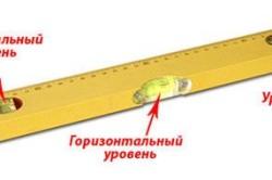 Устройство строительного уровня