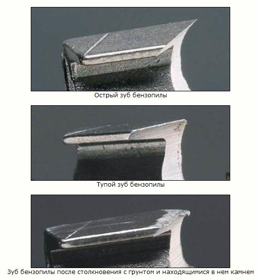 Как заточить цепь на бензопилу своими руками