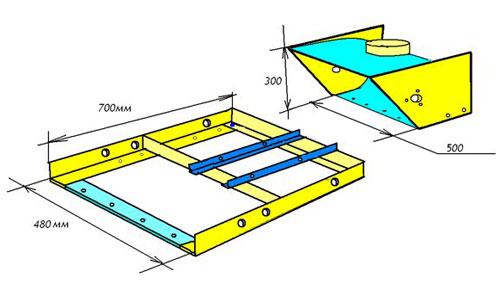 Схема сборки рамы