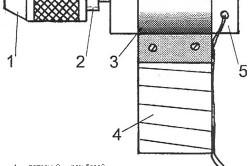Схема собранной мини-дрели
