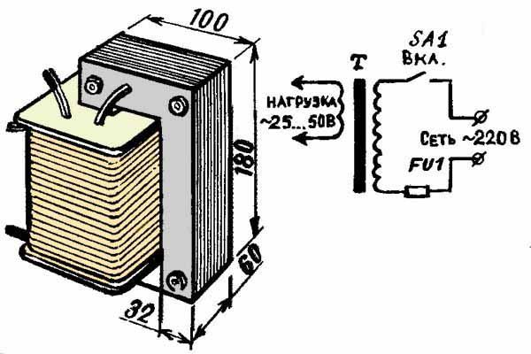 Схема плавильной печи из