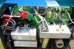 Блок управления сварочного инвертора