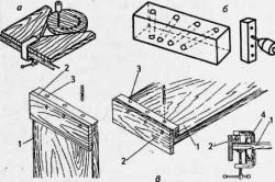 Приспособления для сверления древесины