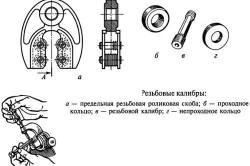 Устройство резьбового микрометра