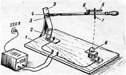 Устройство ручной точечной сварки