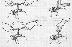 Нарезание резьбы метчиком