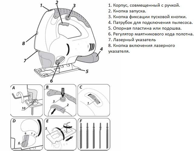 Схема внешнего устройства