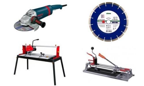 Инструменты для резки керамогранита