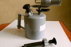 Лампа паяльная бензиновая