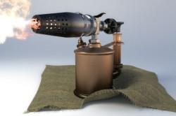 Паяльная лампа на жидком топливе