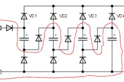 Электрическая схема работы точечной сварки