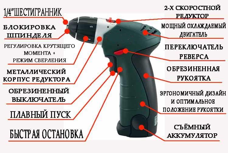 Схема аккумуляторного