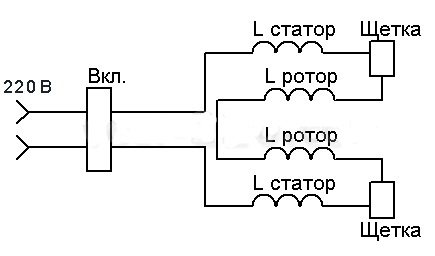 Ушм электрическая схема