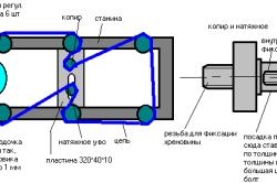Схема рейсмусового станка