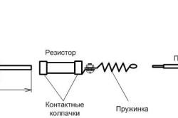 Устройство паяльника с резистором
