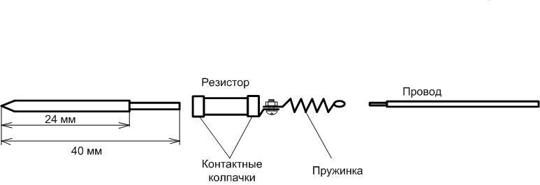 Паяльник своими руками на резисторе
