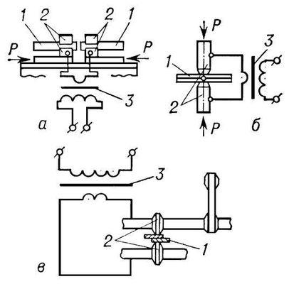 Схема электродного блока