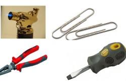 Необходимые инструменты для паяльника из скрепки