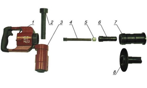 строительного пистолета