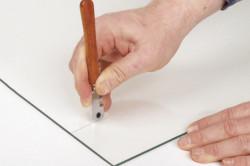 Как разрезать огнеупорное стекло