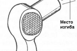 Использование строительного фена для изгибания труб